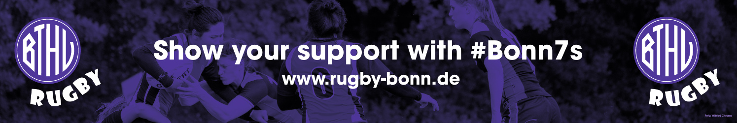 Show your support with Bonn Sevens